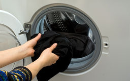 Front-load washer Stock Photography