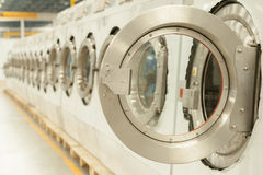Front load washers Stock Photo
