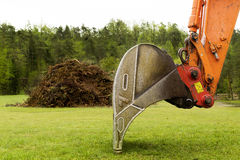 Front loader - bucket Royalty Free Stock Photos