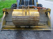 Front loader bucket and scoop Stock Images