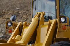 Front Loader Detail Stock Image
