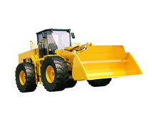 Front loader isolated Stock Photo