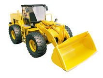 Front loader isolated Stock Images
