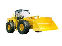 Front loader isolated Stock Photography