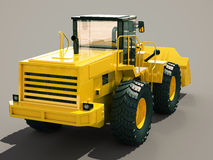 Front loader Royalty Free Stock Images