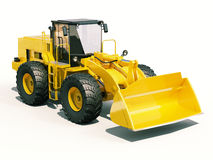Front loader Stock Image