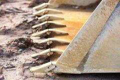 Front loader scoop Stock Image