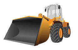 Front loader vector Stock Image