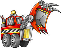 Front Loader Vehicle apocalyptique illustration stock