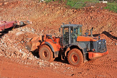 Front Loader working Stock Photography