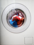 Front Loading Washing Machine Royalty Free Stock Photography