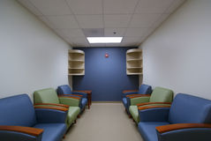 A front lobby, waiting area. stock photography