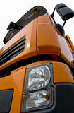 Front of a lorry. Isolated royalty free stock photo