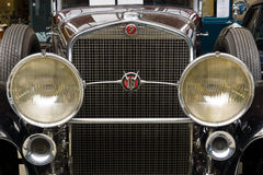 Front of the luxury car Cadillac V-16 Landaulet Stock Photos