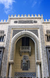 Front of masque in Egypt. With Islamic decoration Royalty Free Stock Image