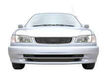 Front of metallic sedan Stock Image