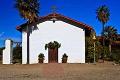 Front of Mission Nuestra Senora de la Soledad stock image