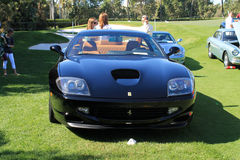 Front modern Ferrari sports car Stock Image