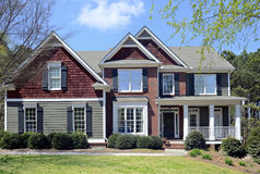 Front of Modern Home stock photography