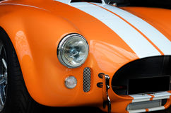 Front of modern sports car. Front of stylish modern sports car, AC Cobra 427 Royalty Free Stock Image