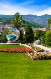 In front of Monaco casino Stock Photo