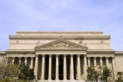 Front of National Archives. The Front of the National Archives in Washington DC Royalty Free Stock Photography