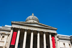 Front of the National Gallery London Royalty Free Stock Photos