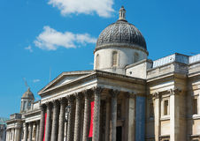Front of the National Gallery London Royalty Free Stock Image