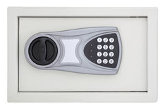 Front numeric code steel safe box Stock Photography