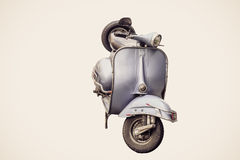 Free Front Of Blue Vespa Royalty Free Stock Photo - 70273795
