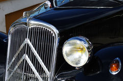 Front of an old car 1 Royalty Free Stock Photo