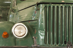 Front of old lorry Stock Image