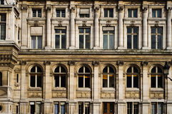 Front of an old Paris building Royalty Free Stock Photo