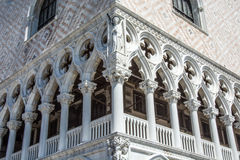 Front of the old prison  in Venice Stock Photography
