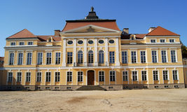 Front of palace Royalty Free Stock Image