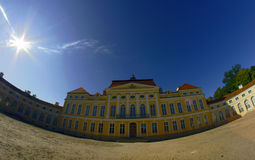 Front of palace Stock Photo