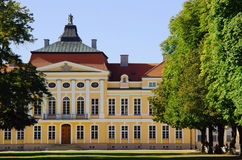 Front of palace in Rogalin Royalty Free Stock Photos