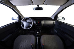 Front panel of car Stock Images