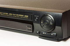 The front panel is home video recorder for playback of home movi Royalty Free Stock Photography