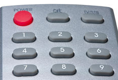 Front part of remote controller Royalty Free Stock Photo