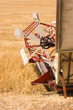 Front part of a swather. Royalty Free Stock Photos