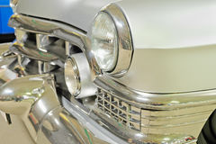 Front part of vintage car Royalty Free Stock Photography