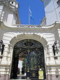 Front of the Peace Palace - Military School Buenos Aires Argentina royalty free stock images