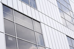 Front picture of Urban building Stock Images