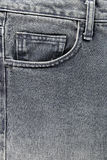 Front pocket of jeans. Stock Photos