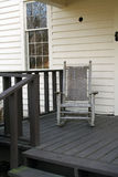 Front porch. Rocking chair on a porch stock photos