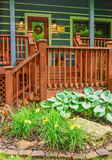 Front Porch of Cabin Royalty Free Stock Images