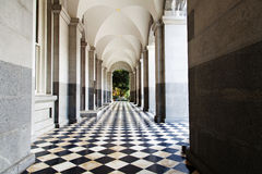 Front Porch Of California State Capitol Building Stock Photography