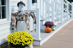 Front Porch Fall Display fotos de stock royalty free