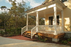 Free Front Porch Of Yellow House Stock Photos - 38008143